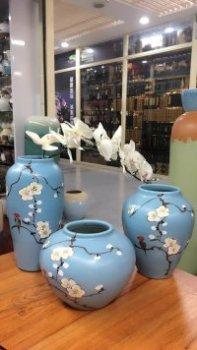 Ceramic decoration crafts ceramic vase mistress set
