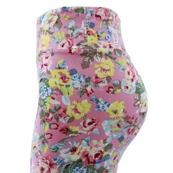 Special Spring and Autumn Korean version of the Korean women's pants small floral leggings