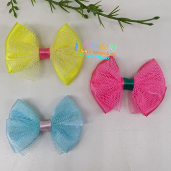 Factory direct DIY bow girl kids shoes cuff jewelry accessories wholesale crafts headdress