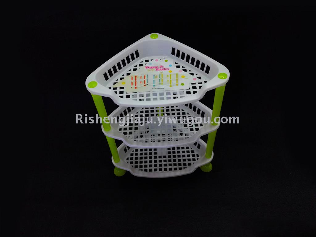 多用收纳三角形层架/小物品整理置物架rs-5938