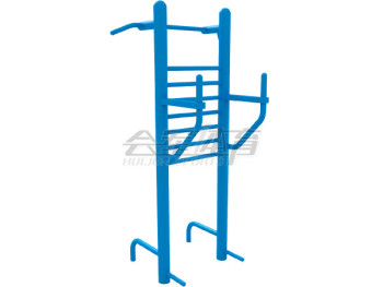 In the barbell training device outdoor fitness equipment