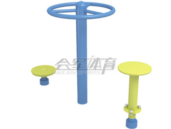 In the new national standard two twist outdoor fitness equipment