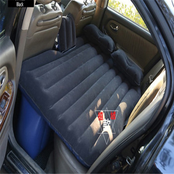 Tufted car travel air mattress blue * day romantic couples car shock bed.