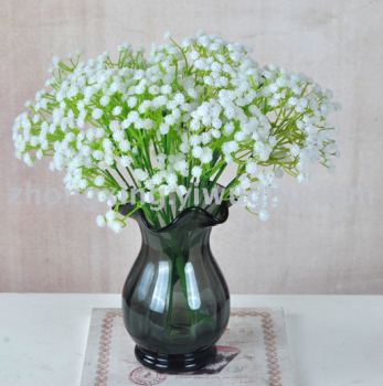 Simulation of artificial flowers wholesale baby's breath bouquet/wedding/bridal hands shoot props