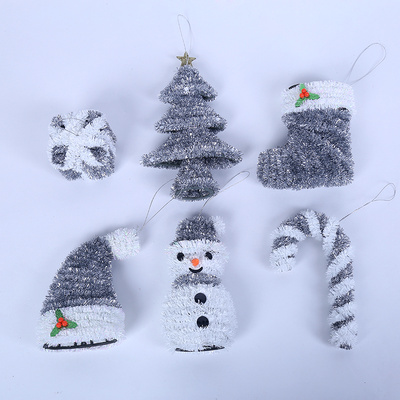 The Christmas tree decoration gifts Snowman ornaments pendants