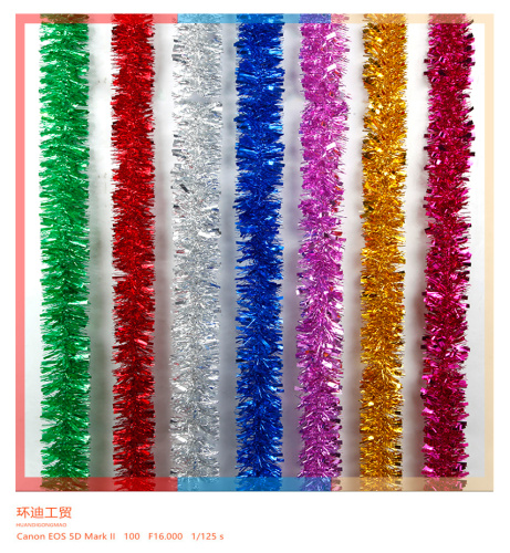 To celebrate the Christmas holiday wedding supplies color graduation party decorations colorful ribbon garland tops