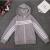 2018 yiwu new spring children's comfortable white strip hat zipper jacket direct sale.