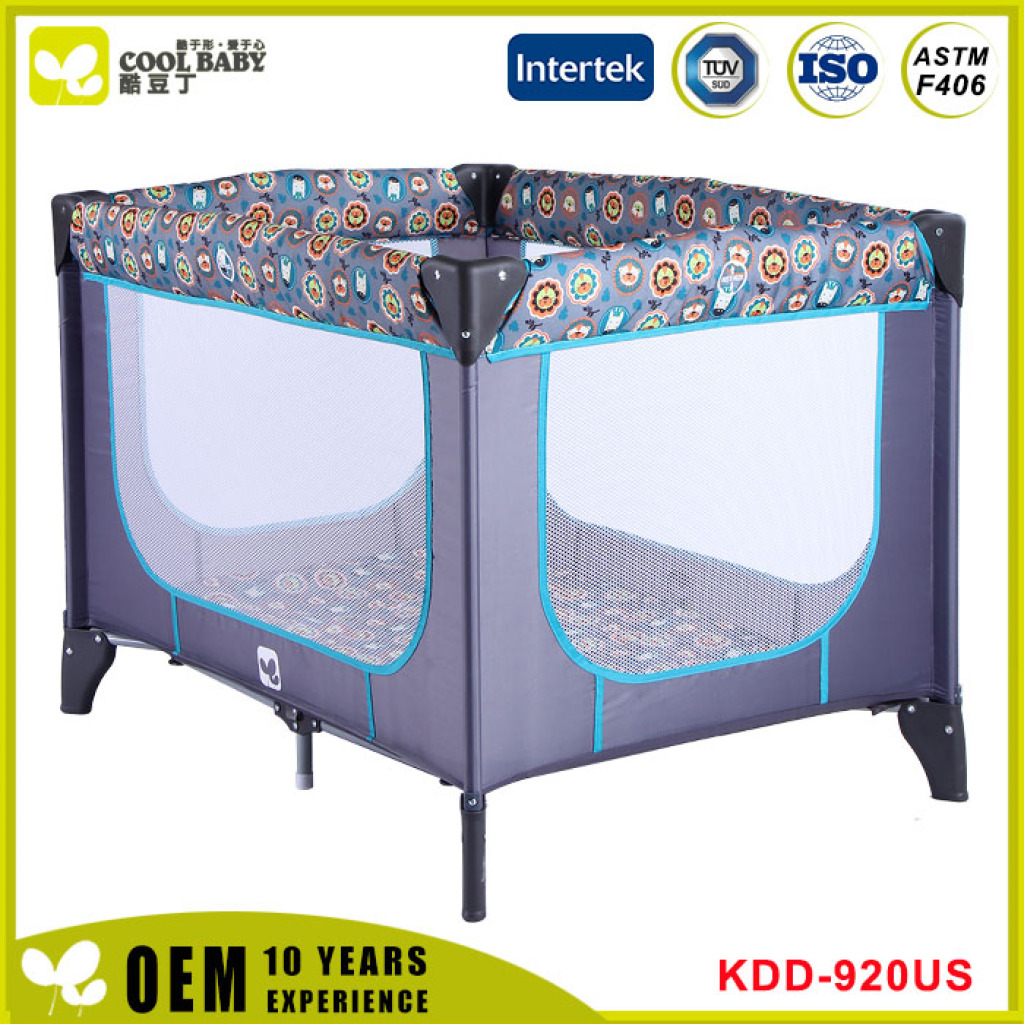 Supply American Standard children bed ASTM-F406, easy folding-