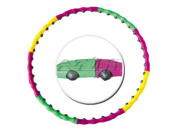 HJ-K605 plastic material hula hoop