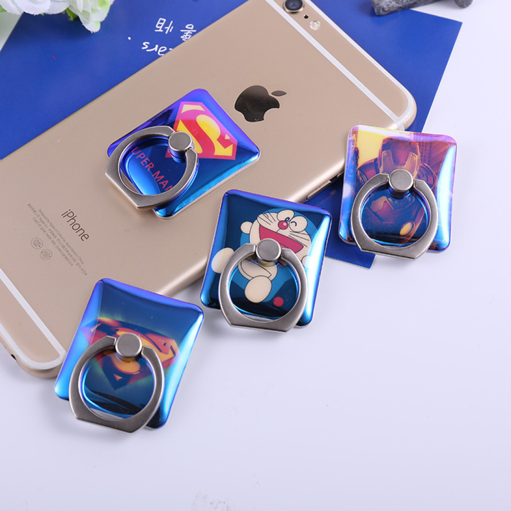 手机指环支架蓝光卡通可爱手机指环扣iring