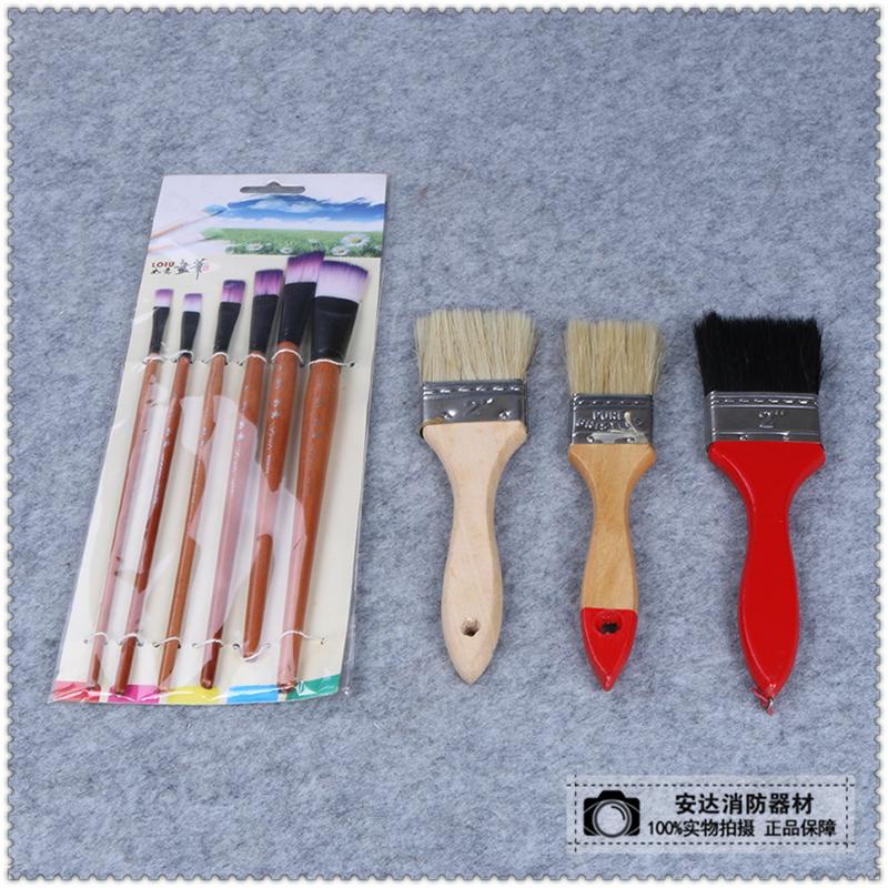 毛画刷刷子油画丙烯水彩国画画笔底纹刷 颜料板刷