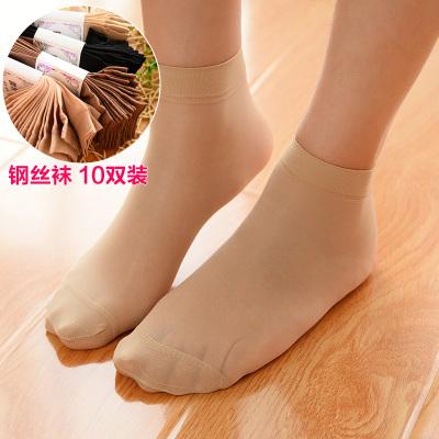 Women 's anti - hook short silk stockings soft velvet short socks silk stockings