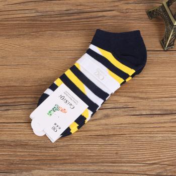Factory direct selling men's striped socks socks socks.