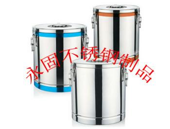 Stainless steel bright heat insulation barrels