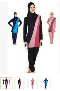 Muslim swimsuit women's bathing suit muslin swimwear Muslim girls swimsuit