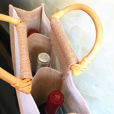 The high-end gift bag packaging bag bag Wine thickened wine alcohol sack
