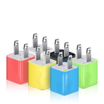 Green Point Charger Samsung Apple Mobile Phone Rechargeable Headphone Universal USB Head