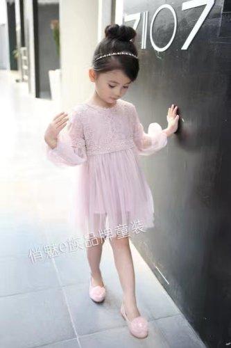Children's girl princess skirt dress skirt skirt sleeve 3-8