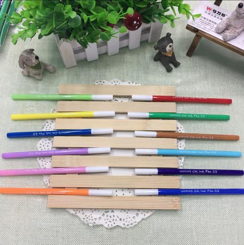 万帮3722彩色中性笔12色勾线笔