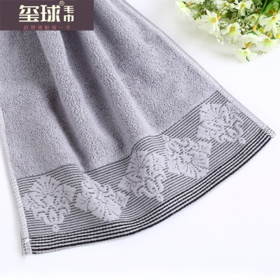Plain cotton towel towel jacquard craft gift towel