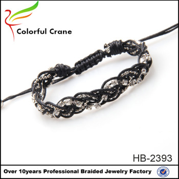 Europe and the United States wax thread chain bracelet