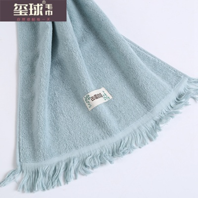 Plain cotton towel towel towel products seal ball tassel