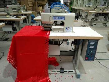 Ultrasonic ultrasonic embossing machine sewing machine.