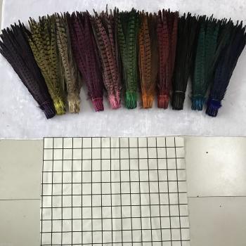 Sun spot wholesale 35-40CM 10 pheasant tail feathers