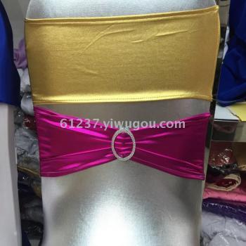 Wedding wedding free stretch back hoop bowknot back buckle back flower decoration