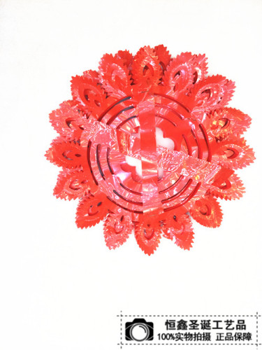 Manufacturers selling Christmas gifts, wedding wedding room layout decoration Festival venue Red Phoenix will sub Lahua