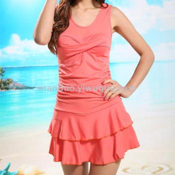 Pure fashion swimwear fashion lady spa swimsuit