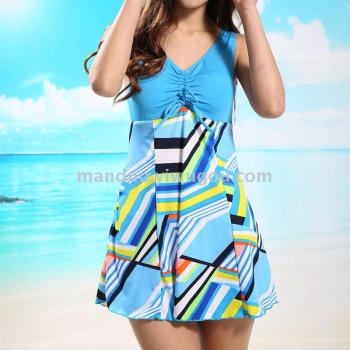 Fashion show two sets of swimsuit ladies fashion hot spring bathing suit
