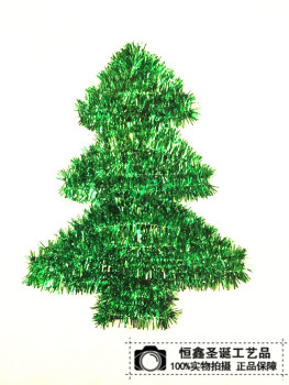 Manufacturers selling Christmas gifts of Christmas tree ornaments hanging pendant jewelry ring wall