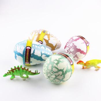 Extreme white cracked dinosaur eggs 6 times larger than the expansion of the expansion of dinosaur eggs birthday gift