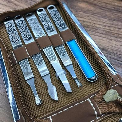 High grade nail clipper set beauty nail set 10 sets of gifts