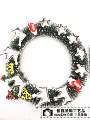 Christmas Wreath factory direct door hanging Arcades Hotel supermarket decoration decorate Christmas gift