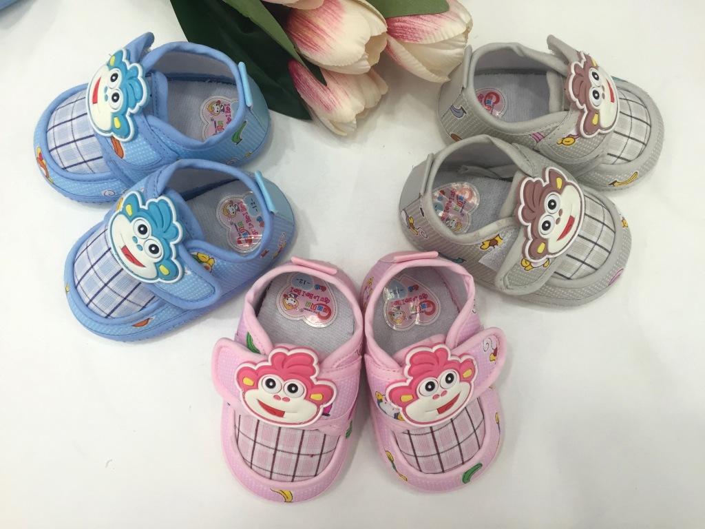 橡胶底新款时尚猴子头卡通单鞋 婴儿鞋 宝宝鞋 学步鞋