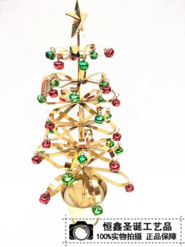 Christmas gifts Christmas tree Christmas Christmas gift pot iron iron scene props