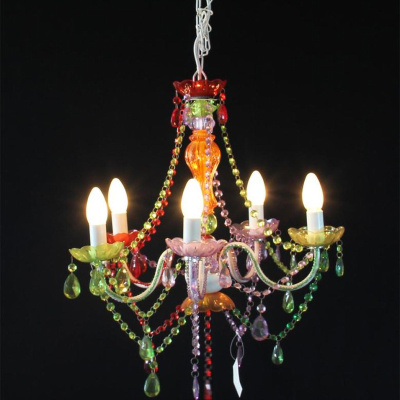 L55056 hot selling classic pendant chain chain multi color pendant lamp