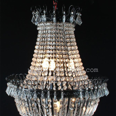 L46085 crystal chandelier hotel lobby chandelier color