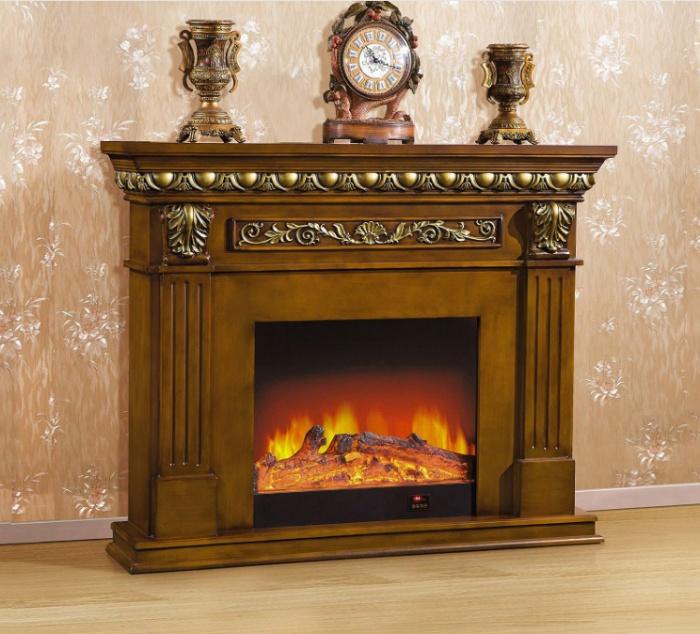 欧式创意壁炉 创意家居摆件 白色壁炉