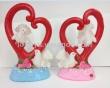 Valentine's Day dove resin decoration decoration