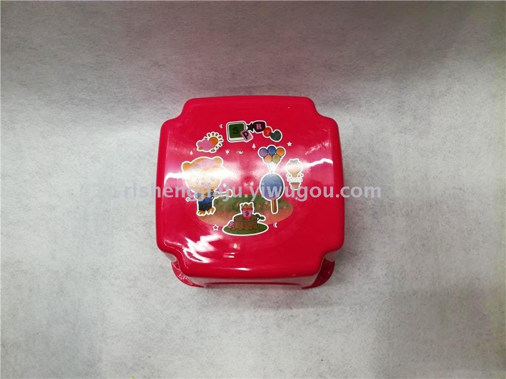 正方形卡通印花儿童凳子幼儿园宝宝凳rs-8279