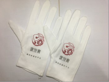 Cotton gloves gloves etiquette white gloves 5008