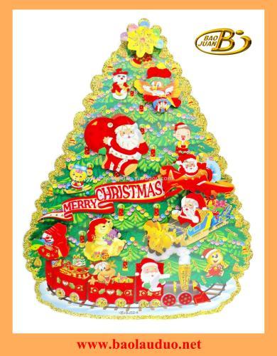 Factory  new Christmas sticker window sticker