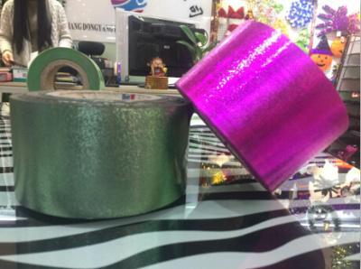PET, PVC transparent film vacuum aluminum coating raw materials packaging materials color film