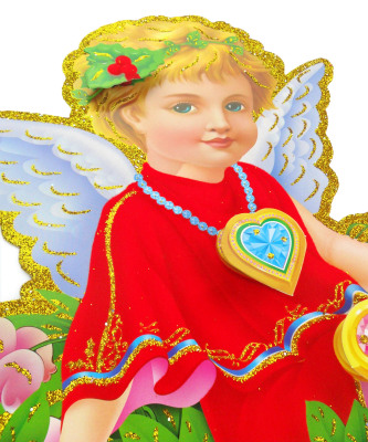 The latest stereo CHRISTMAS Stickers Angel stickers