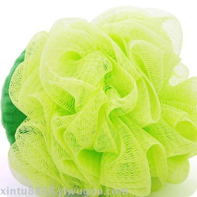 Bath bath bath bath flower soft large blister ball bath wipe off horny fruit shape bath bath towel