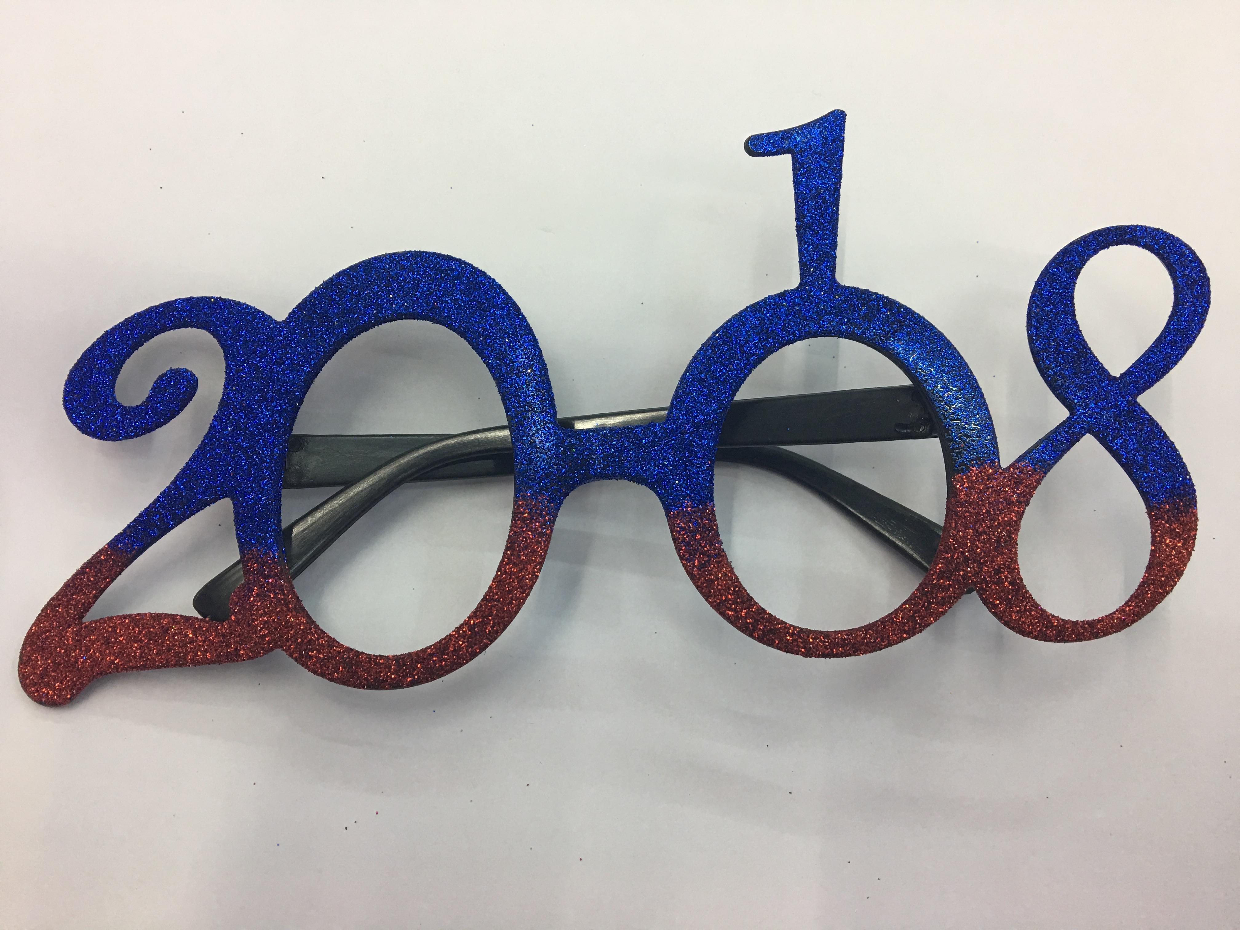 供应新款厂家直销数字2018眼镜图片