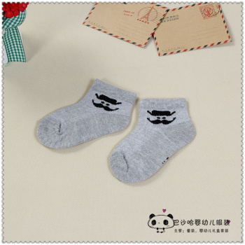 Newborn baby socks in spring and autumn winter thin primary children pure cotton socks